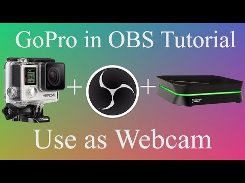 How To Use GoPro as a Webcam with Capture Card in OBS Studio | One Minute Tutorial