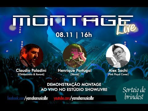 Workshop Montage com Henrique Portugal, Claudio Paladini e A