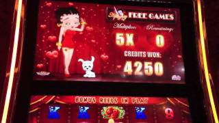 Bally - Betty Boop Slot - Feature(s) - Parx Casino - Bensalem, PA