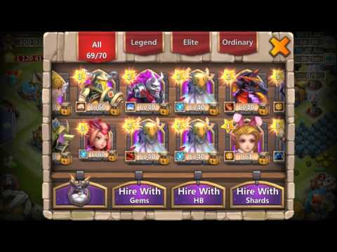 Castle Clash: Ultimate Evolutions (Evolving DD, CUP, HQ, Pixie)