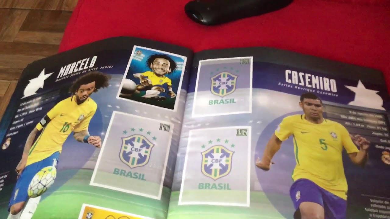 Resultado de imagem para album do brasil da copa da russia