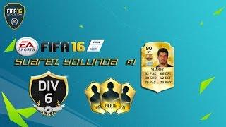FIFA 16 SÜPER MAÇ/SUAREZ YOLUNDA #1/TÜRKÇE