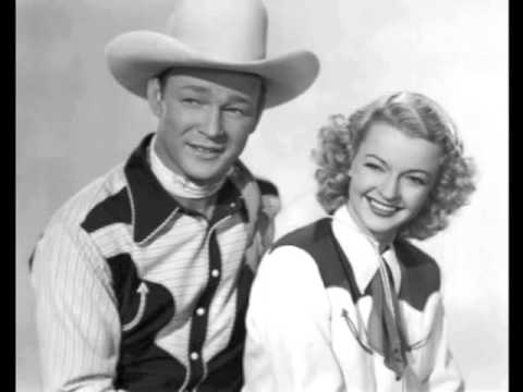River Of No Return (1954) - Roy Rogers And Dale Evans W/ The Mellomen