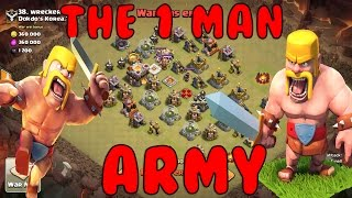1 Man VS 40 - Peeyun The One Man Asian Sensation in Town Hall 11 3 Stars in Clash Of Clans