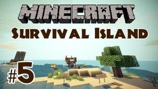 Minecraft Survival Island: Part 5 - Screaming Spanish