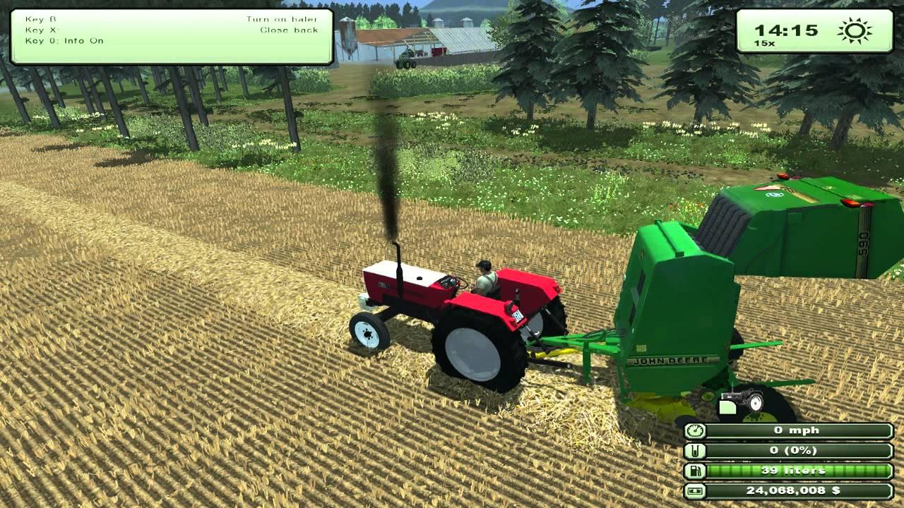 FARM SIMULATOR 2013 NEW MAP NEW MODS - YouTube
