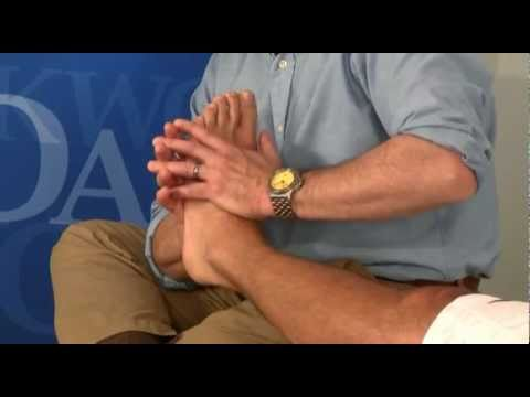Walt Fritz discusses Compressive Myofascial Release for the Foot using  Oakworks equipment