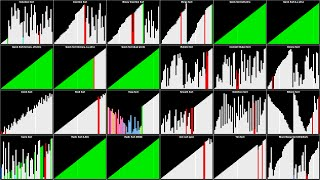 Visualization of 24 Sorting Algorithms In 2 Minutes