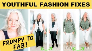 LOOK 10 YEARS YOUNGER ( 12 Fashion & Styling Tips for Mature Women over 50 )