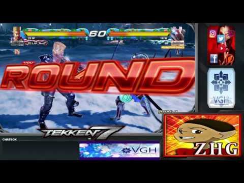 Tekken 7 : VGH - Video Gamers Hawaii - King of Iron Fist Tournament 808 (Part 3)
