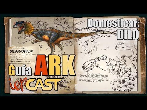ARK Survival Evolved - Guia de Taming - #2 - Dilophosaurus (Dilo)