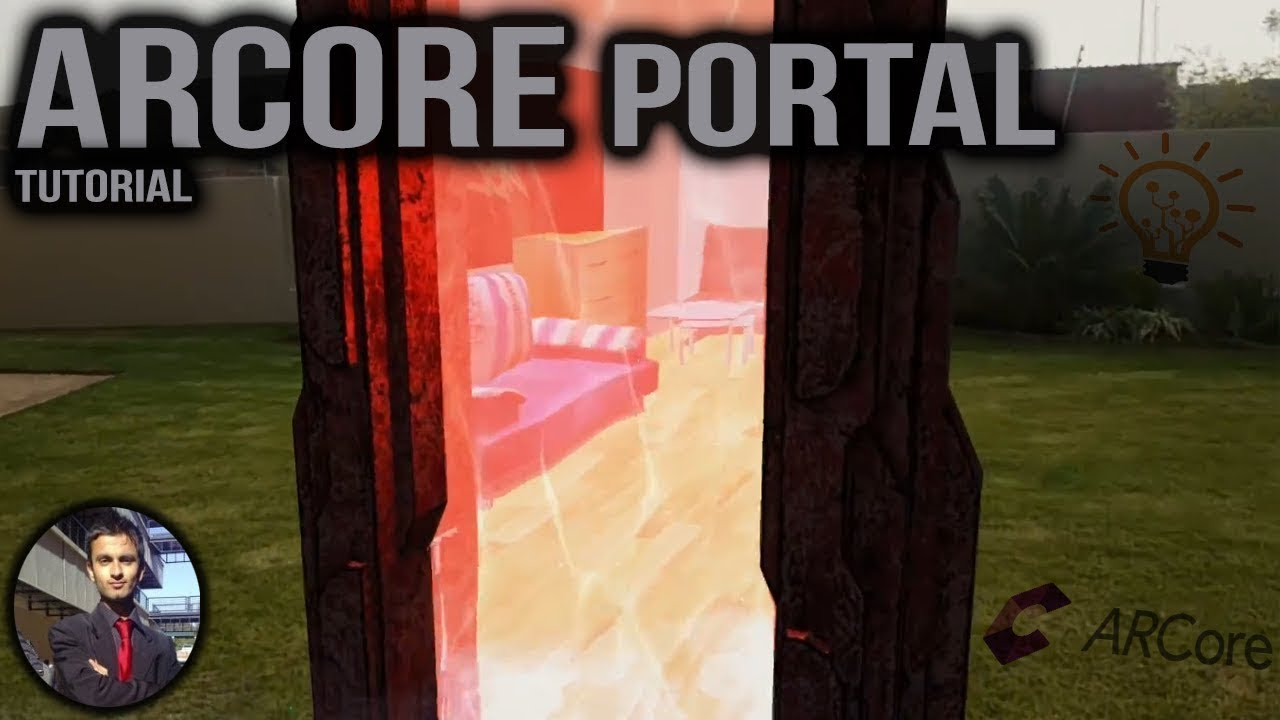 Augmented Reality Portal using ARCore and Unity - AR Portal Tutorial