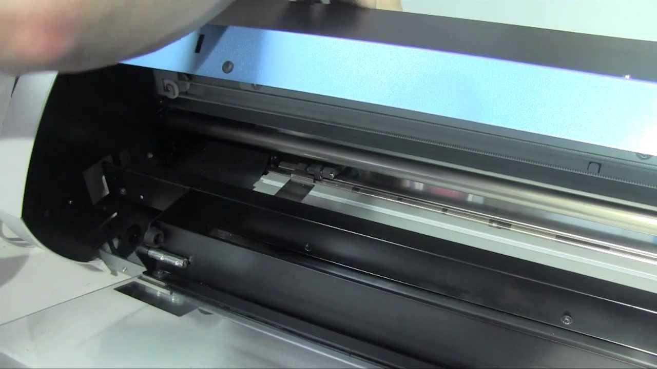 Replacing a Cutting Protection Strip on a Roland VersaSTUDIO BN20