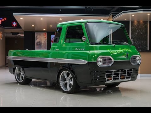 1965 Ford Econoline Grasshopper Pickup For Sale - YouTube