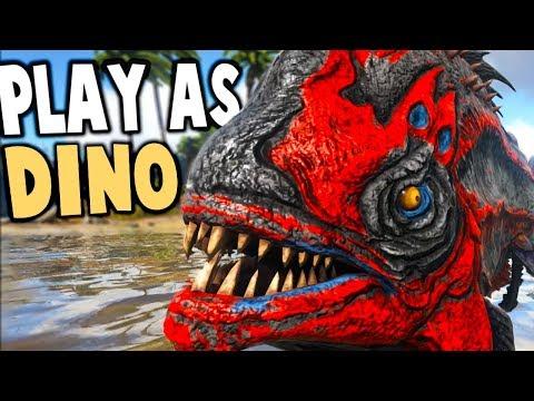Download Youtube: YESS!! PLAY AS DINO MULTIPLAYER BOSS BATTLES! - Ark Survival Evolved Modded Gameplay