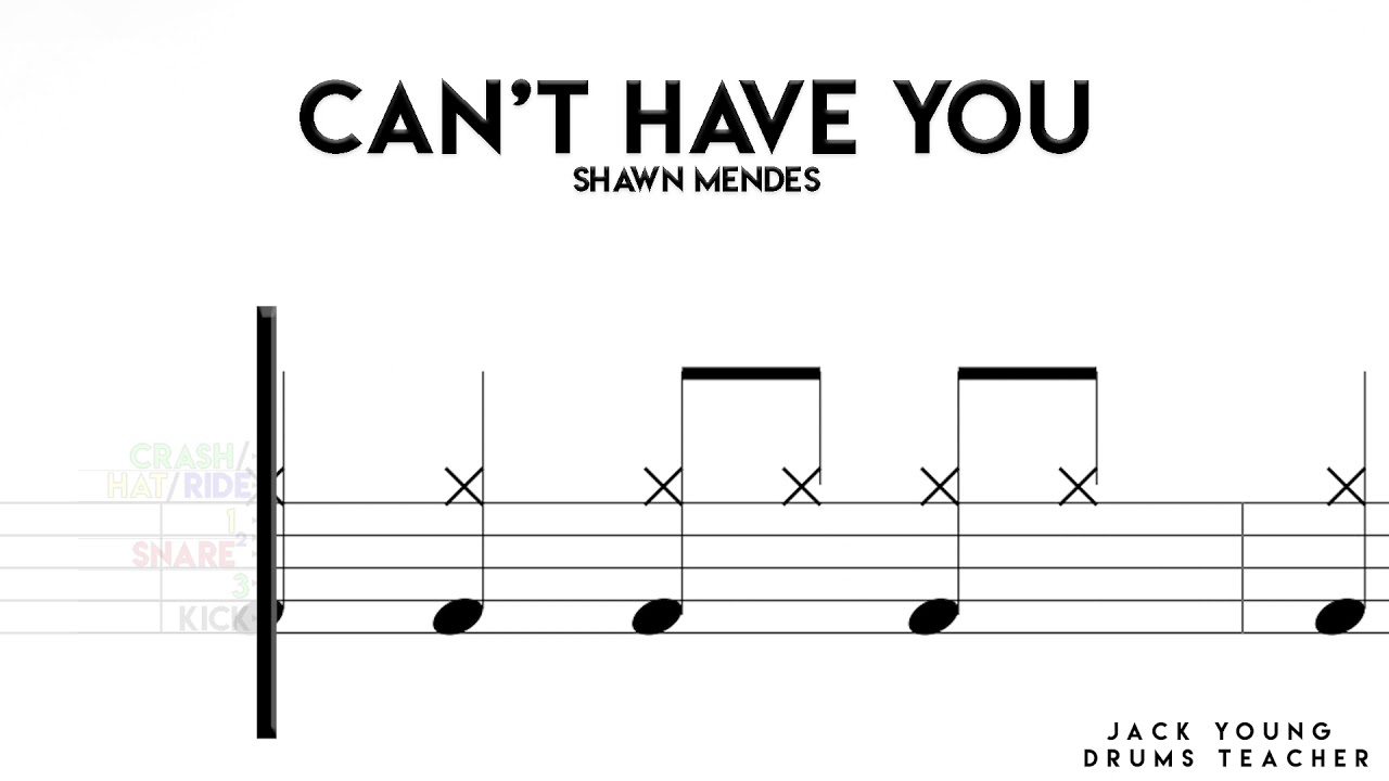 Download How To Play Can't Have You On Drums!