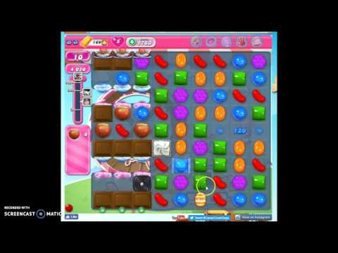 Candy Crush Level 1763 help w/audio tips, hints, tricks