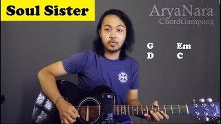 Chord Gampang (Soul Sister - Train) by Arya Nara (Tutorial Gitar) Untuk Pemula