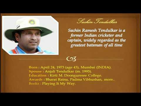 Sachin Tendulkar's 10 Inspirational Quote !! Motivational and Success Quotes