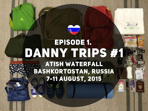 Danny Trip #1. Atish, Bashkortostan, Russia. You will see how to travel in Russia!
