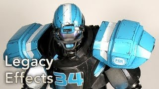 FOX SPORTS CLEATUS ROBOT Behind the Scenes - Legacy Effects