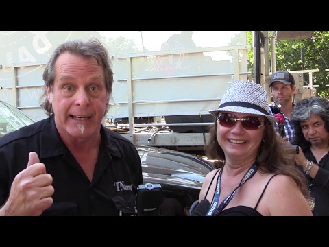 Ted Nugent Interviewed at the 40th annual 2017 Dallas International Guitar Show