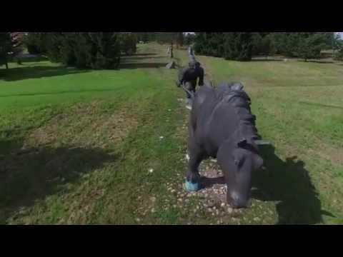 Estonia/Jõgeva drone footage - DJI Phantom 3 Professional