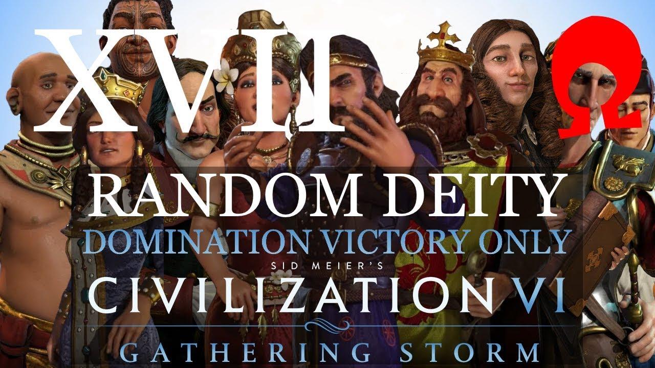 Omega Alden Plays Civilization 6 Gathering Storm - Random