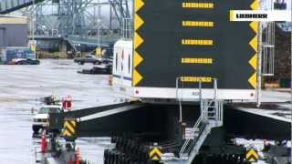 Gambar cover Liebherr LHM Mobile Harbour Crane - Heavy Lift