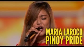 MARIA LAROCO XFACTOR UK 2018 PINOY PRIDE | PURPLE RAIN SNEAK PEEK