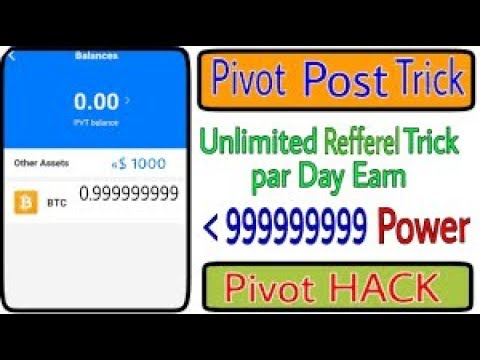 Pivot App - How To Increase Unlimited Power ( Pivot POWER Trick) pathan