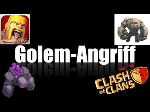 Clash of Clans: Golem-Angriff