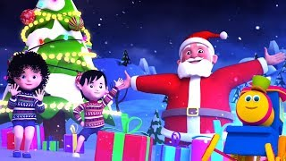 Боб Поезд песня | Джингл Беллз | рождество рифмы | Xmas Songs | Bob Train Jingle Bells