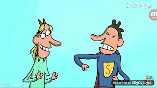 Cuadro de animaciones de dibujos animados.