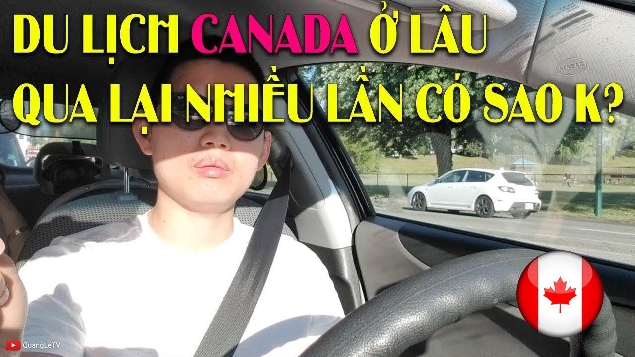 Visa Du Lịch Canada | Đổi chuyến bay, Delay được đền $600 | Sân Bay Vancouver | Quang Lê TV #65