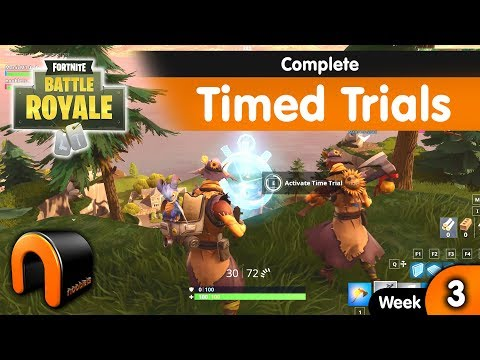 Complete Timed Trials FORTNITE - Week 3 Challenge