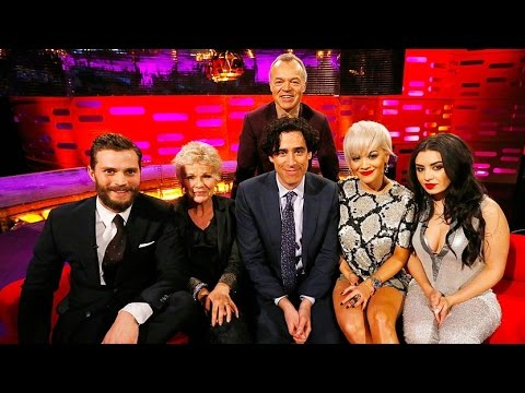 The Graham Norton  with Jamie Dornan, Julie Walters, Stephen Mangan, Rita Ora русские субтитры