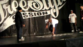 Free Style Session 2011 TOP8 Skill methodz vs 5 Crew Dynasty