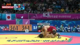 Reza Yazdani (IRAN) -Asian games 2014 - Wrestling Final