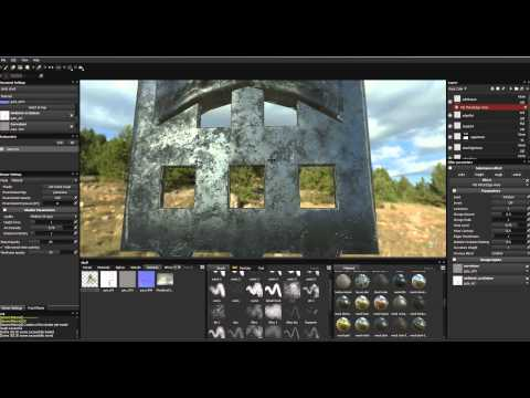 Cave Level IV: Texturing in Substance painter