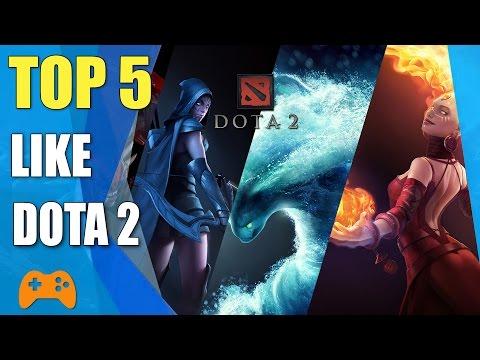 Top 5 games like DotA 2 | DotA 2 Alternatives and Similar Games