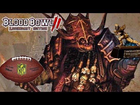 Chaos Dwarfs vs Underworld Denizens  | Blood Bowl 2 Ft. THE HALFLING LORD