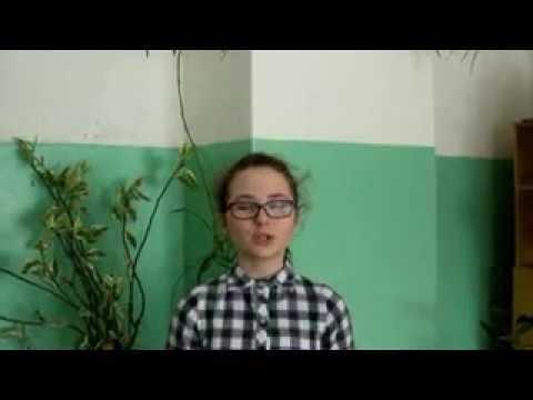 Изображение предпросмотра прочтения – ДарьяЯковлева читает произведение «В школе» Ю.П.Воронова