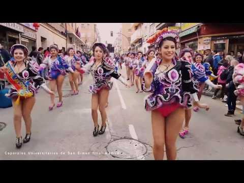 Chicas bailando caporales 9 (Yara - Bailando Caporales)