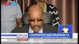 Usimamizi wa kampuni ya maji katika Kaunti ya Murang\'a yapata pigo