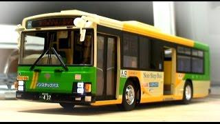 RC 都営バス ウインカー点滅  アオシマ いすゞエルガ 1/32ラジコンカー