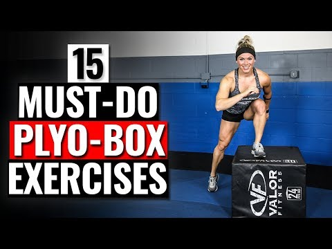 15 MUST DO Plyometric Box Exercises // Build STRENGTH & Increase POWER