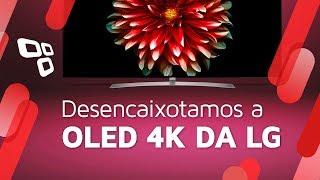 """TV LG OLED 4K de 55"""" - Unboxing e primeiras impressões - Tecmundo"""
