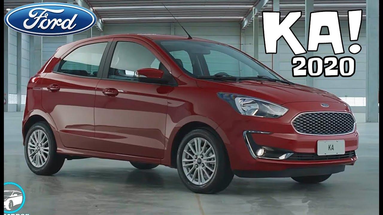 Novo Ford Ka 2020 Hatch Em Detalhes Top Carros Youtube