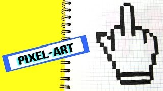 How to draw a hand- PIXEL ART
